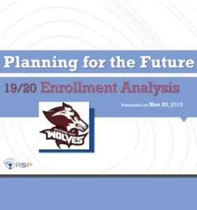 Enrollment Report & Projections