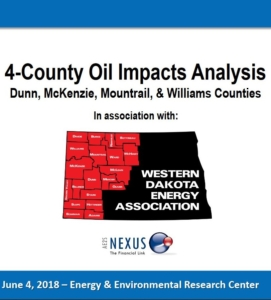 4-County Oil Impact Analysis